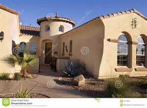 Style Home Southwestern Style Modern Home Stock Photo Image 1913930