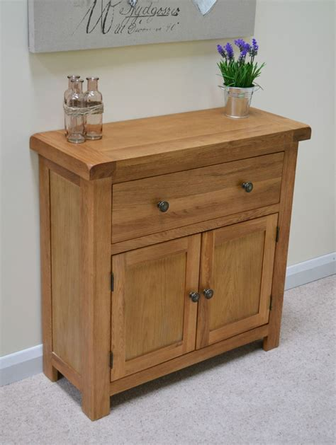 Mini Sideboards beaufort oak mini sideboard small storage cupboard