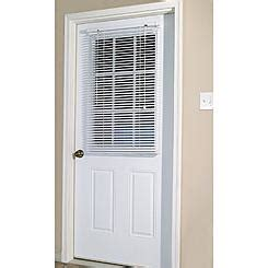 magnetic blind  steel door