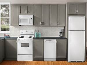 white kitchen cabinets with white appliances, Topnotch And