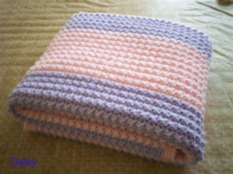 patron tricot couverture bebe facile