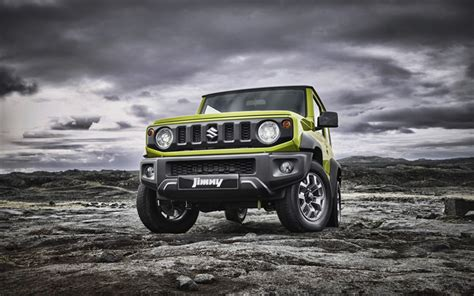 wallpapers suzuki jimny 4k offroad 2019 cars