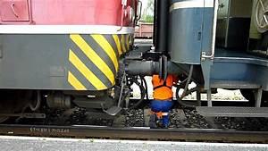 Locomotive Coupling Operation At Kajaani