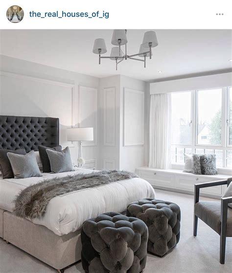white  gray bedroom theme