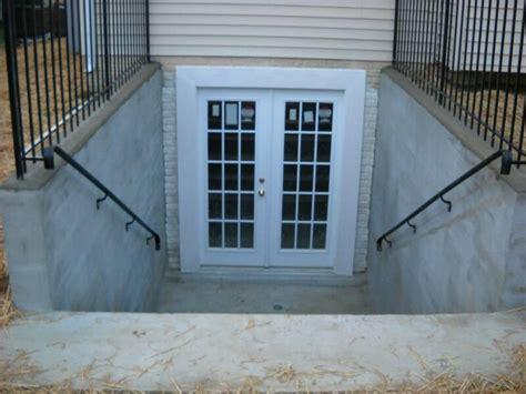 basement walkout tricks for installing walkout basement doors and