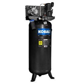 shop kobalt 3 7 hp 60 gallon 155 psi 230 volt vertical electric air compressor at lowes com