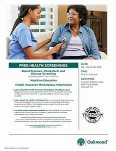 News - Free Health Screenings - TheInfoCenter.info