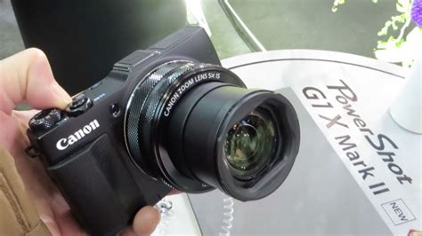 canon powershot gx mark ii    cp  youtube