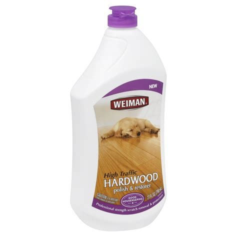Weiman Polish & Restorer, Hardwood, High Traffic, 27 Fl Oz