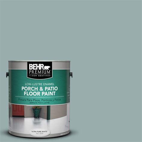 behr premium 1 gal pfc 46 barrier reef low lustre porch