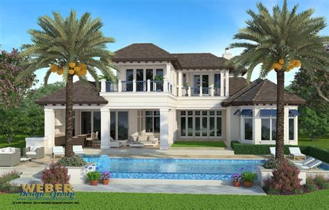 Home Design Florida by Naples Florida Architect Port Royal Custom House Design