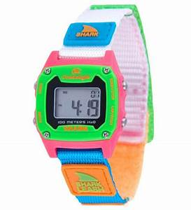 Freestyle Watches Shark Mini Leash Black  Neon Unisex Watch