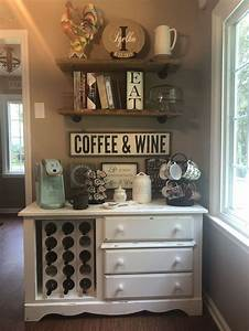 Fantastic, Diy, Coffee, Bar, Ideas, For, Your, Home, 38
