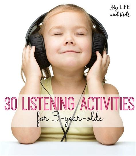 48 best images about speaking amp listening activities for 276 | b3a5be5a54c91337f36ef7a681657a4e toddler activities listening activities preschool