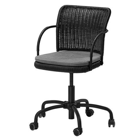 swivel office chair ikea gregor swivel chair from ikea modern desk chairs