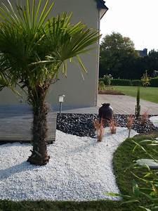 Galets Jardin Castorama : terrasse en gravier blanc ~ Premium-room.com Idées de Décoration