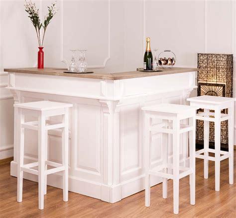 si鑒e de bar bar in forma de l 140x140x107cm rustic butique