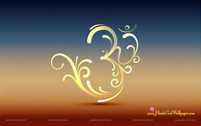 Om Wallpapers Spiritual Symbol Hindu God Desktop
