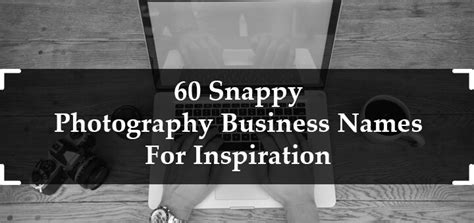 snappy photography business names industry
