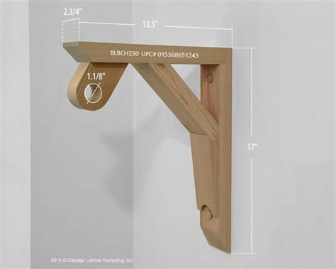 single shelf support bracket with a closet rod by