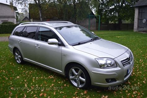 toyota avensis t25 kombi toyota avensis t25 facelift 2 2 d cat 130kw auto24 ee