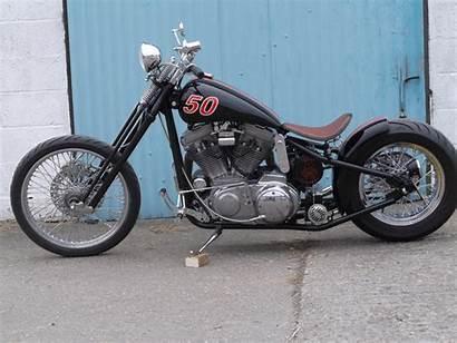 Sportster Springer Harley Bobber Chopper Motorcycles Evo