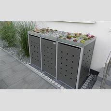 Mülltonnenboxen Aus Metall Resortimülltonnenboxende