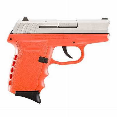 Sccy Cpx Orange Pistol 9mm Stainless Barrel