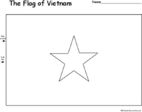 Vietnam Flag Coloring Page - Eskayalitim
