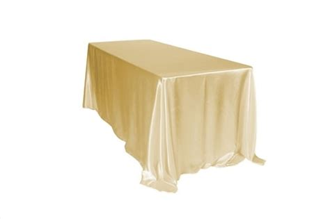 how to make a tablecloth for a rectangular table 90 x 156 inch rectangular satin tablecloth chagne