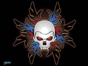Tribal Skull Wallpaper by stourangeau on DeviantArt