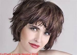 Coiffure Tendance 2016 Femme : coupes de cheveux court femme 2016 48 coiffure ~ Melissatoandfro.com Idées de Décoration