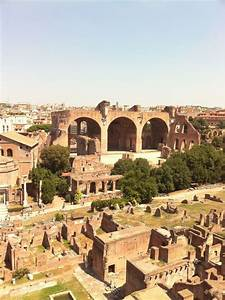 Ancient Rome: Basilica of Maxentius and Constantine at the ...
