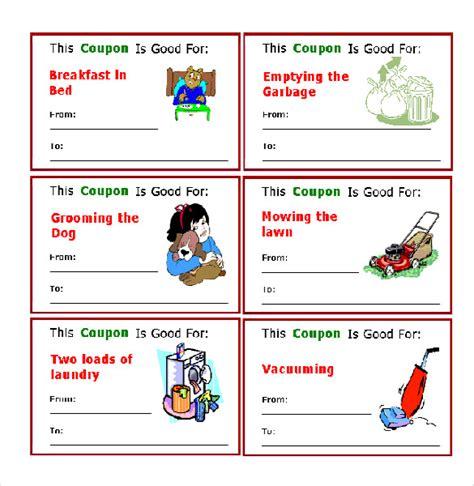 coupon template microsoft word 25 word coupon templates free free premium templates