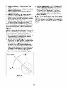 Page 24 Of Cub Cadet Lawn Mower Lt1050 User Guide
