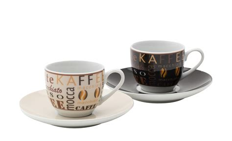 ritzenhoff cappuccino tassen espressotassen glas cucina di modena espressotassen