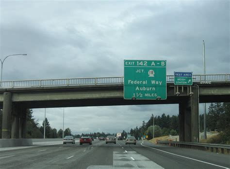Washington @ AARoads - Interstate 5 North - King County South
