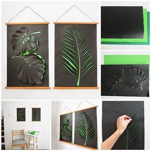 How to make diy paper wall art instructions