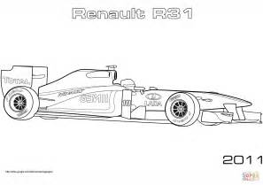 disegni da colorare macchine formula 1 disegno di auto da formula 1 renault r31 da colorare