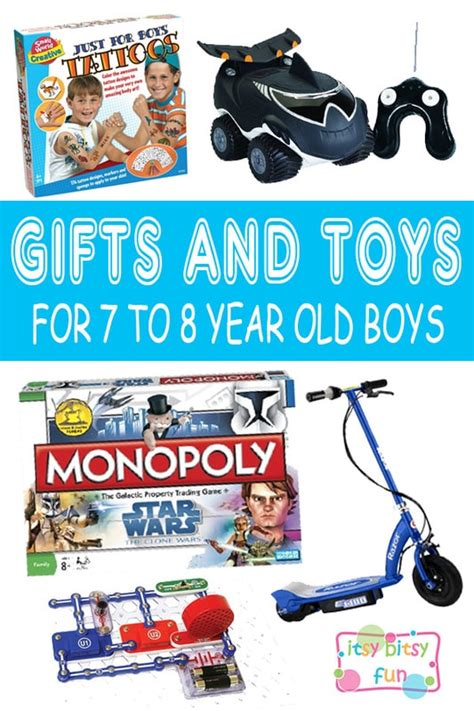 Best Gifts For 7 Year Old Boys In 2017  Itsy Bitsy Fun