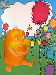 Pin Am The Lorax I Speak For Trees Cake on Pinterest