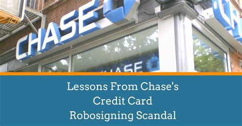Lessons From Chase's Credit Card Robosigning Scandal. Dish Tv Without Contract Edit Video Background. Online Internet Marketing Training. School Of Media And Communication. Free Turnkey Online Store Lvn Online Programs. Flatbed Trucking Companies In Ohio. Bachelor Of Arts Criminal Justice. Rehab Facilities In Missouri. Yoga Franchise Opportunities