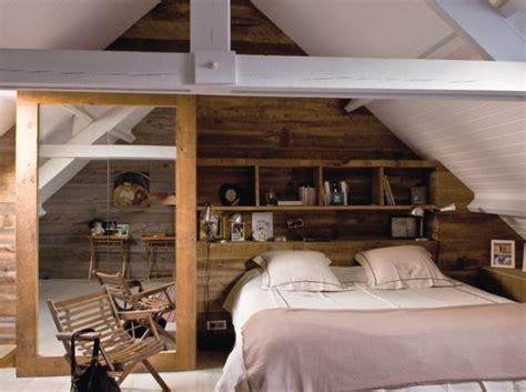 chambre deco bois deco chambre en bois