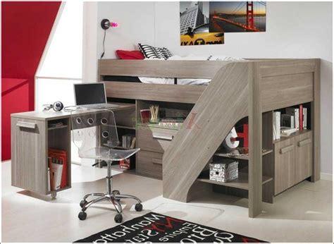 lit mezzanine bureau ado lit mezzanine bois ado bureau
