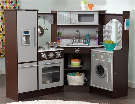 kidkraft espresso kitchen accessories kidkraft ultimate corner play kitchen cheapest prices 4939