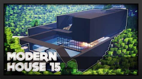 Minecraft  Modern House 15 Youtube