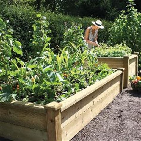 superior wooden raised bed kits  raised bed kits