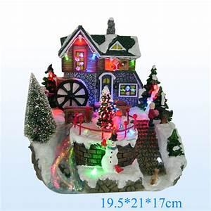 Maison De Noel Miniature : maison miniature de noel pas cher ventana blog ~ Nature-et-papiers.com Idées de Décoration