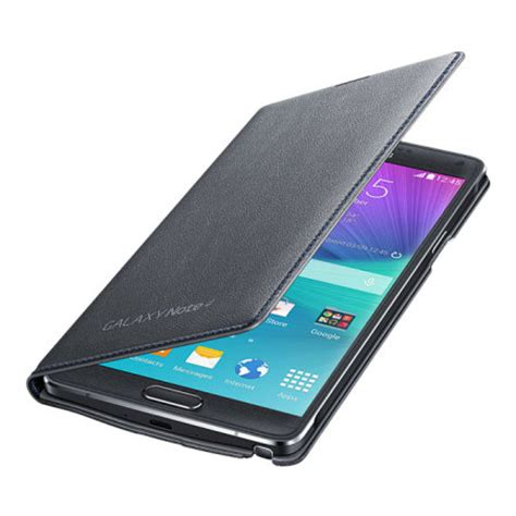 Samsung Led Wallet Note 4 official samsung galaxy note 4 led flip wallet cover