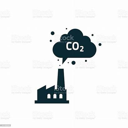 Co2 Emissions Smoke Factory Silhouette Chimney Cloud